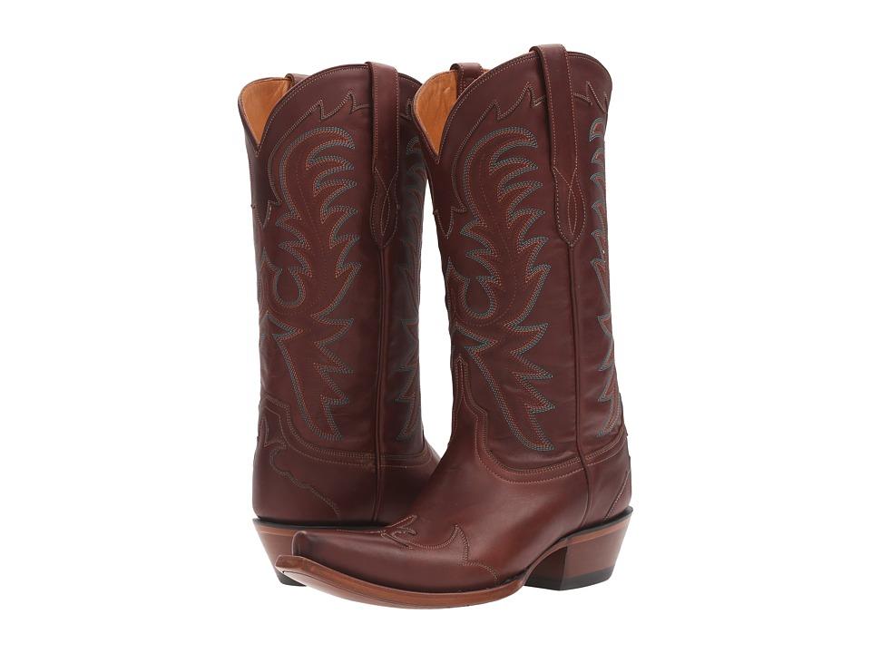 Lucchese Bernadette (Wine) Cowboy Boots