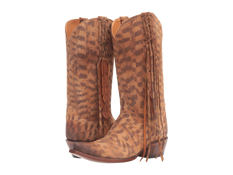 Lucchese - Tori (Tan) Cowboy Boots