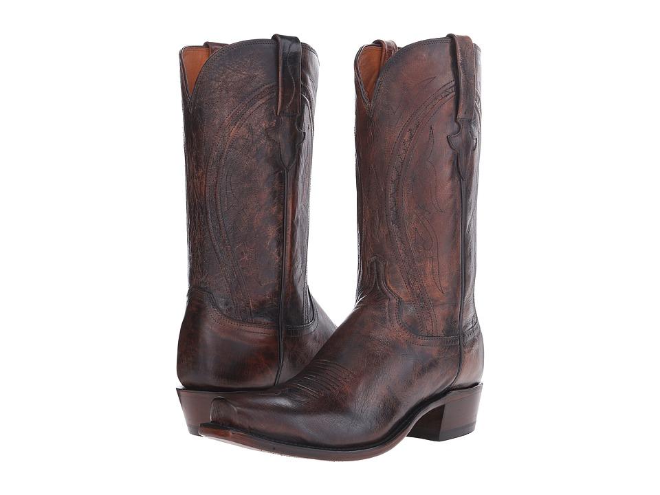 Lucchese Clint (Peanut Brittle) Cowboy Boots