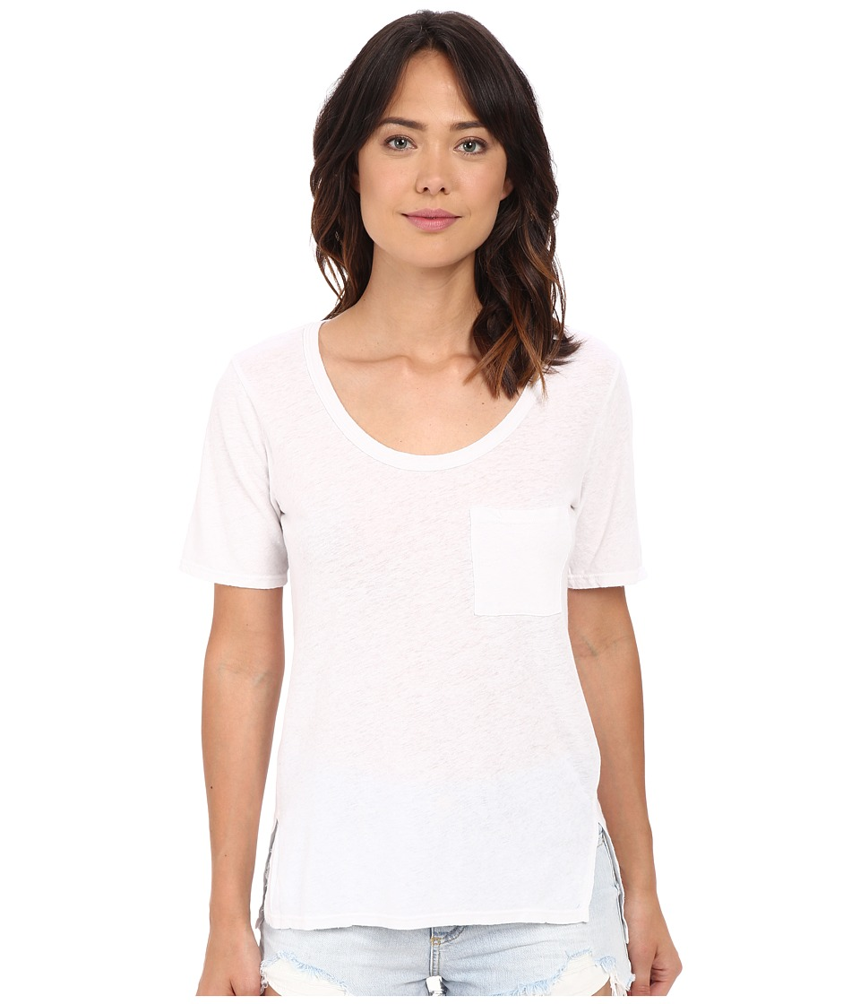 Project Social T Ale Tee White Womens T Shirt