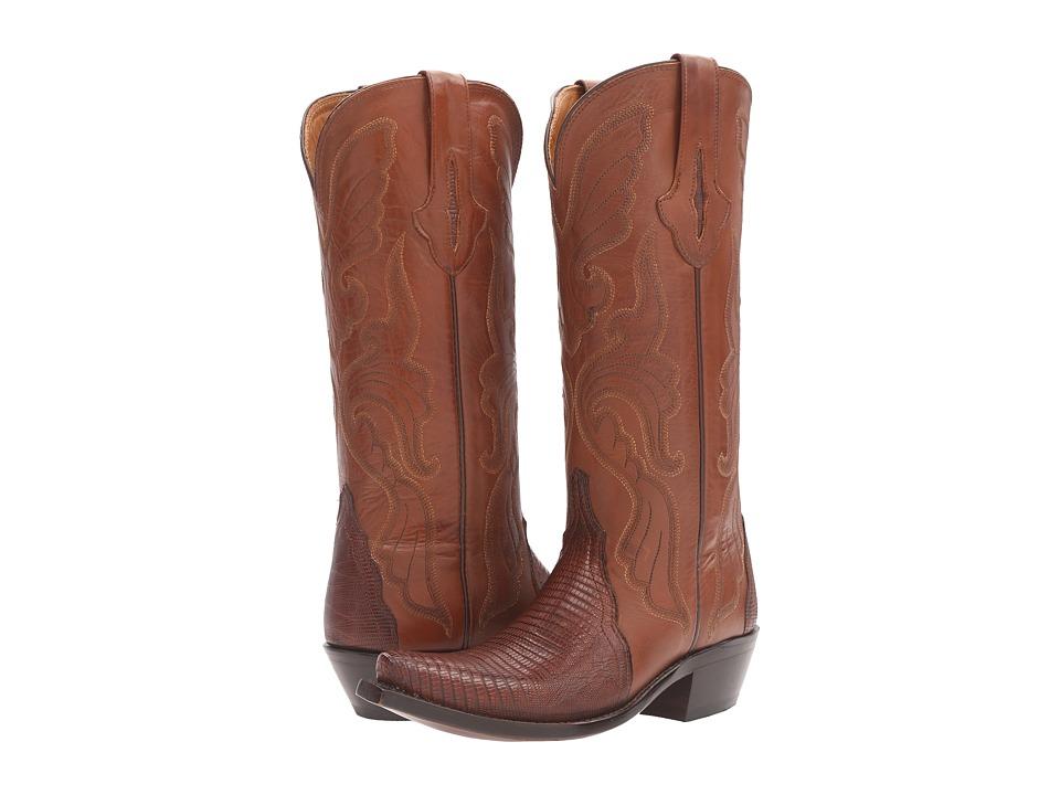 Lucchese - Carmen (Walnut) Cowboy Boots