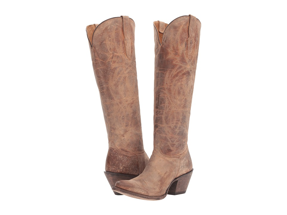Lucchese Courtney (Tan) Cowboy Boots