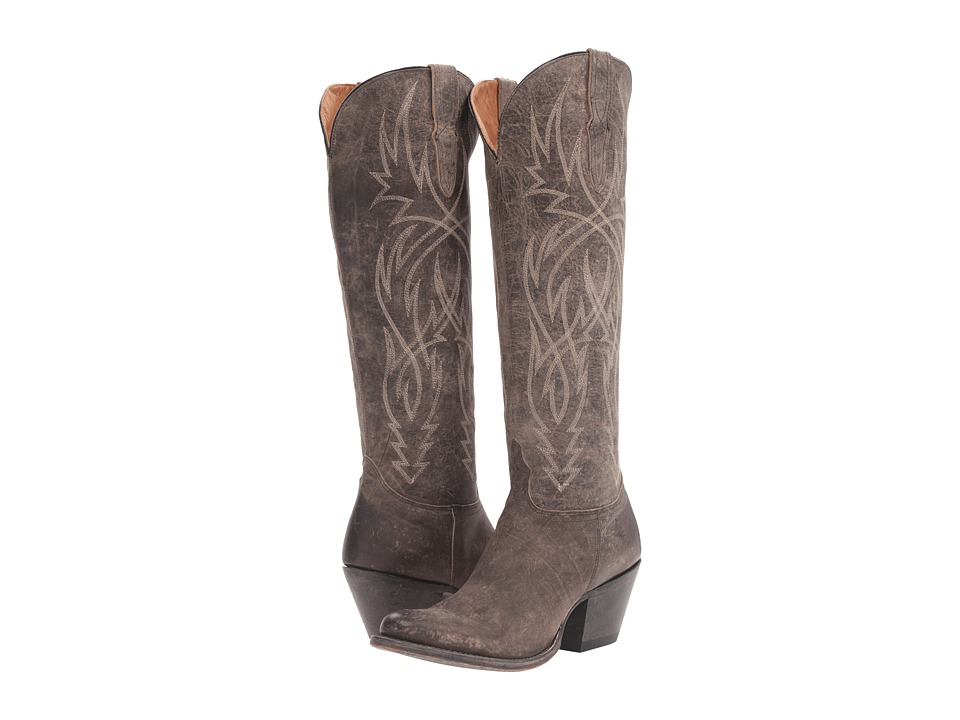 Lucchese Courtney (Anthracite Grey) Cowboy Boots