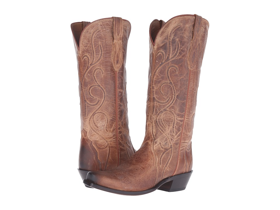 Lucchese - Patsy (Tan) Cowboy Boots