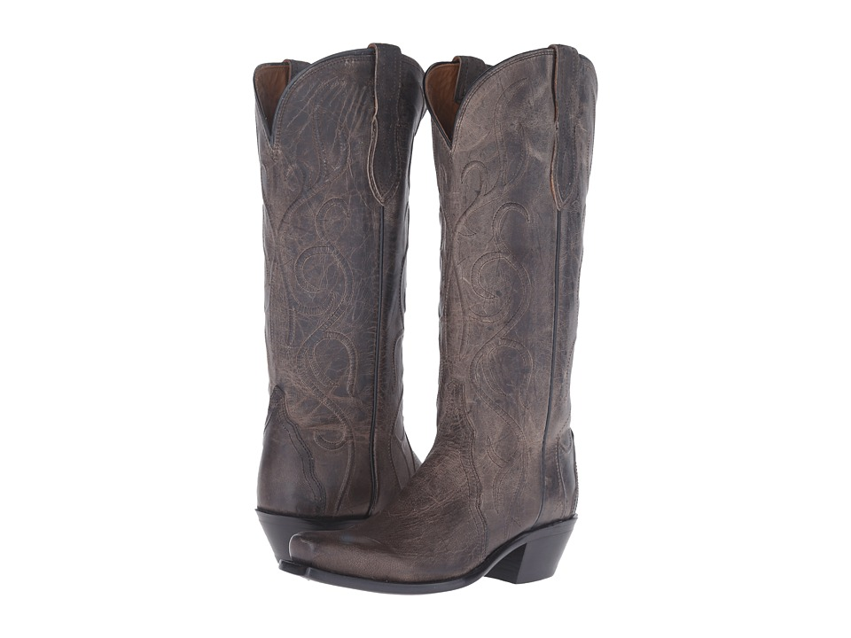 Lucchese Patsy (Anthracite Grey) Cowboy Boots