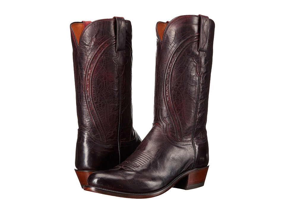 Clint (Black Cherry) Cowboy Boots