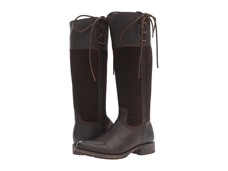 Lucchese - Emma (Chocolate) Cowboy Boots