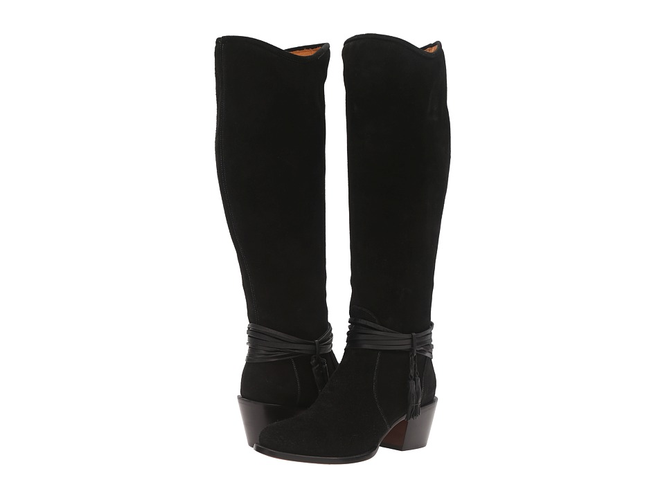 Lucchese Ellie (Black) Cowboy Boots
