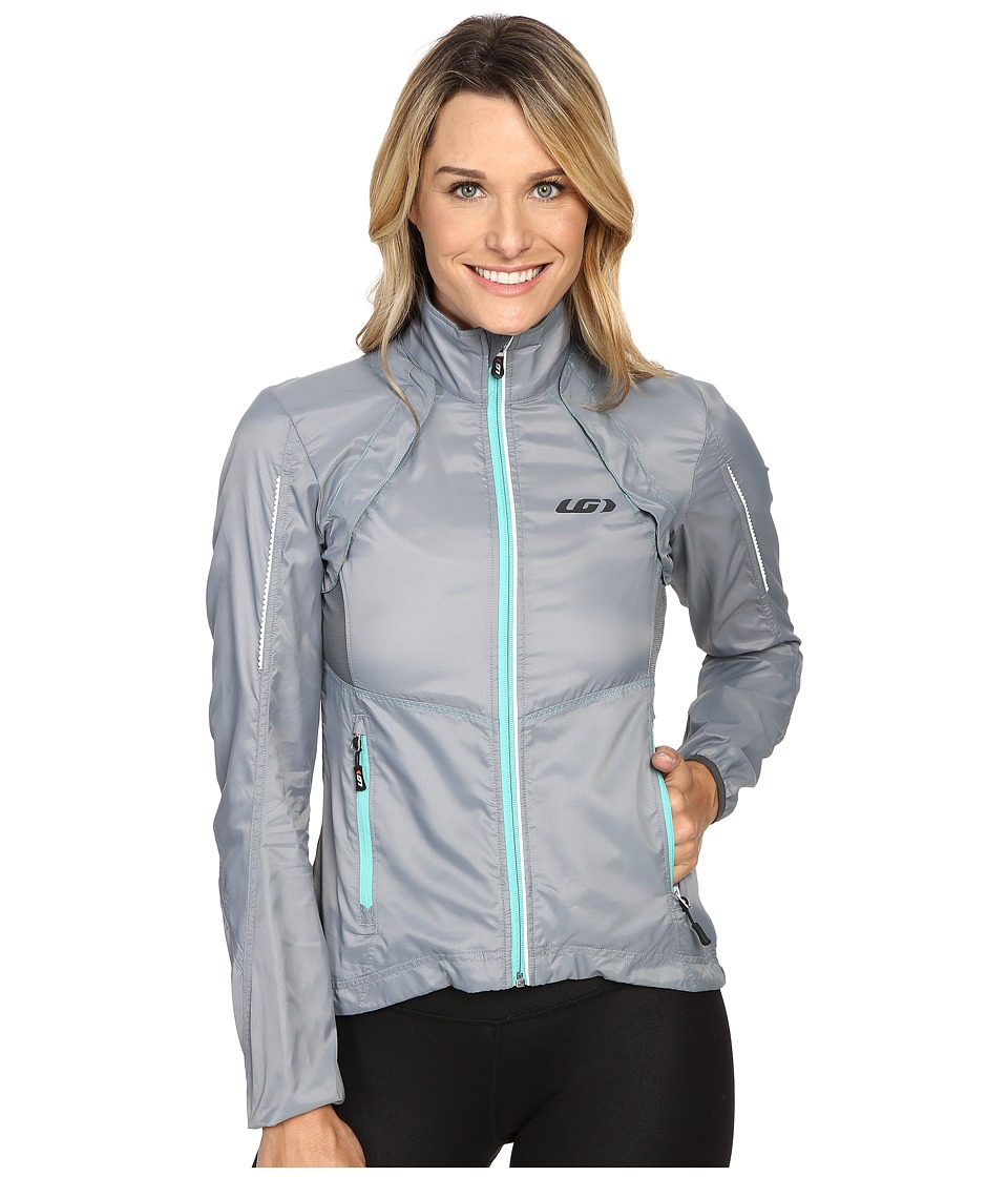 Louis Garneau Cabriolet Jacket (Steel) Women's Workout
