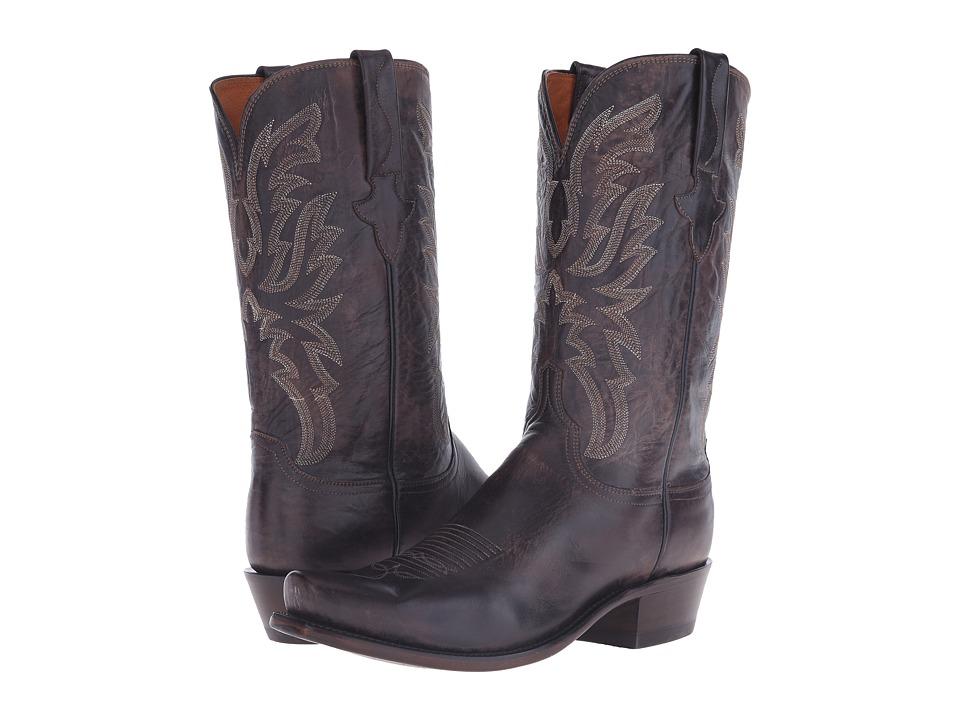 Lucchese Milo (Dark Brown) Cowboy Boots