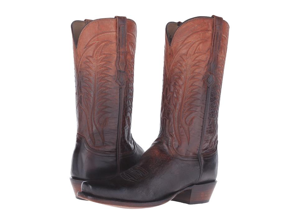 Lucchese Montgomery (Peanut Brittle) Cowboy Boots