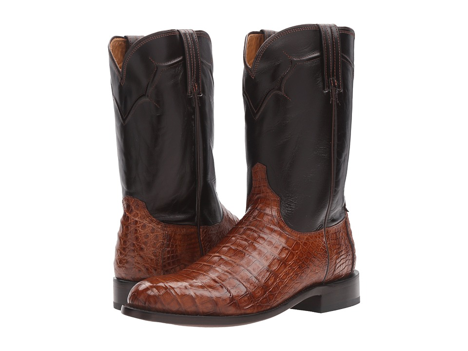 Lucchese Dustin (Sienna) Cowboy Boots