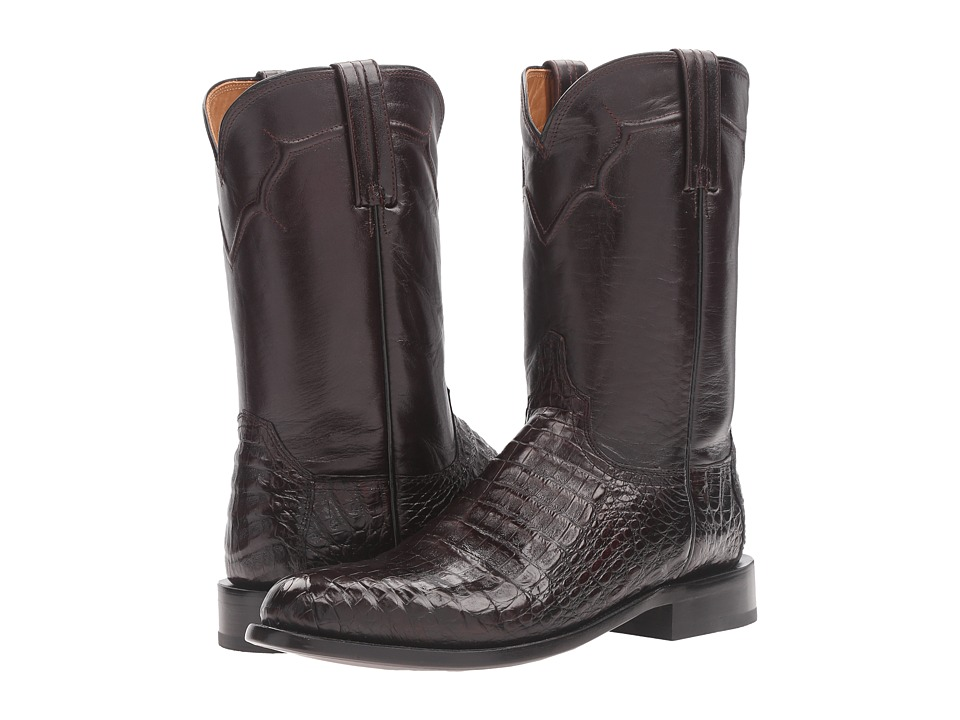 Dustin (Black) Cowboy Boots