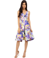 Maggy London - Rainbow Haze Floral Faille Fit and Flare