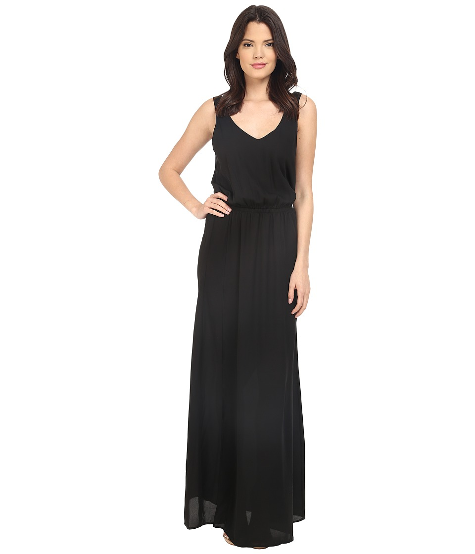 Show Me Your Mumu Kendall Maxi Dress Black Crisp Womens Dress