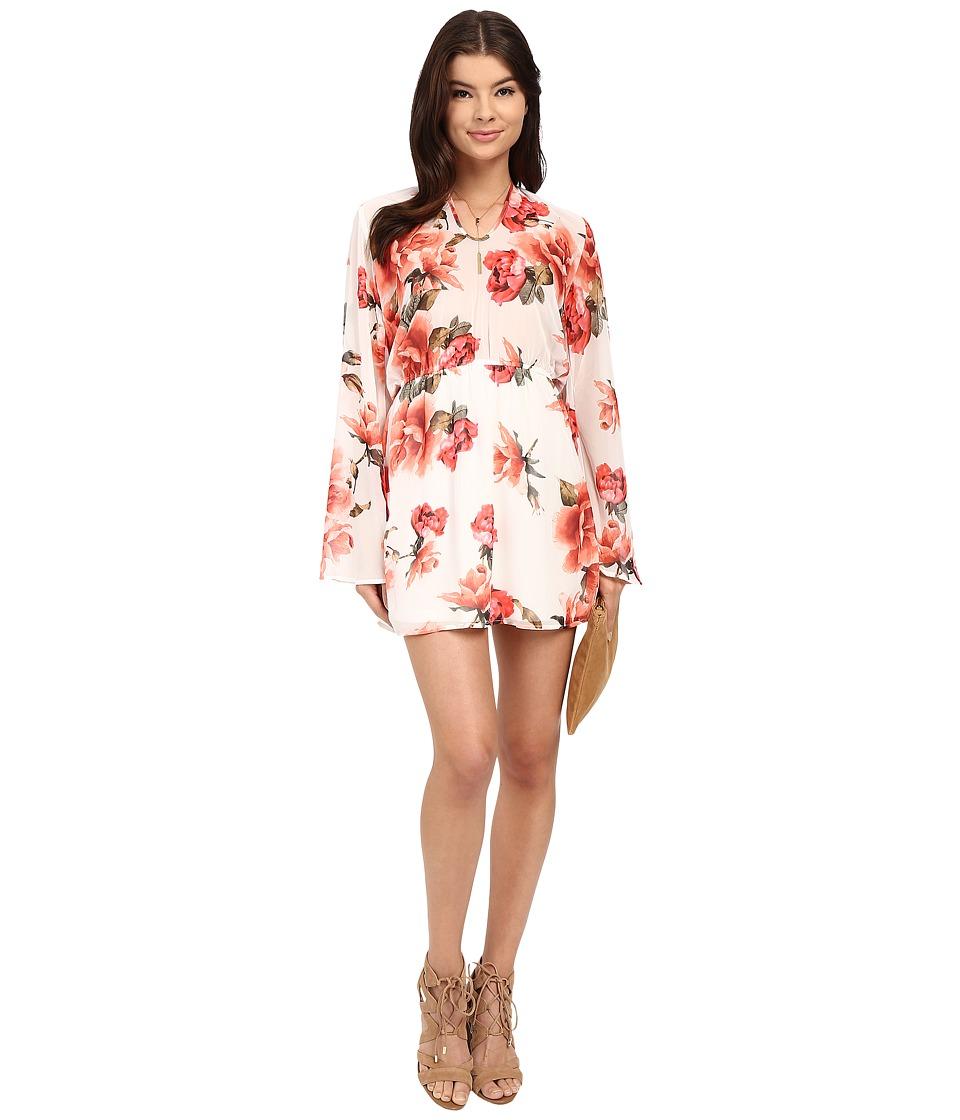 Show Me Your Mumu Runaway Mini Dress Romuntic Rose Womens Dress