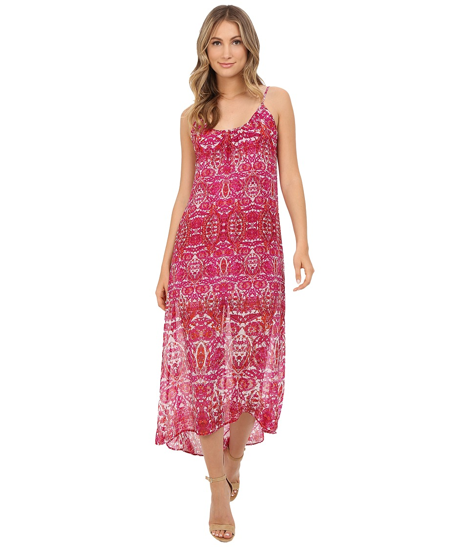 Show Me Your Mumu Turlington Maxi Dress Pomegranate Punch Womens Dress