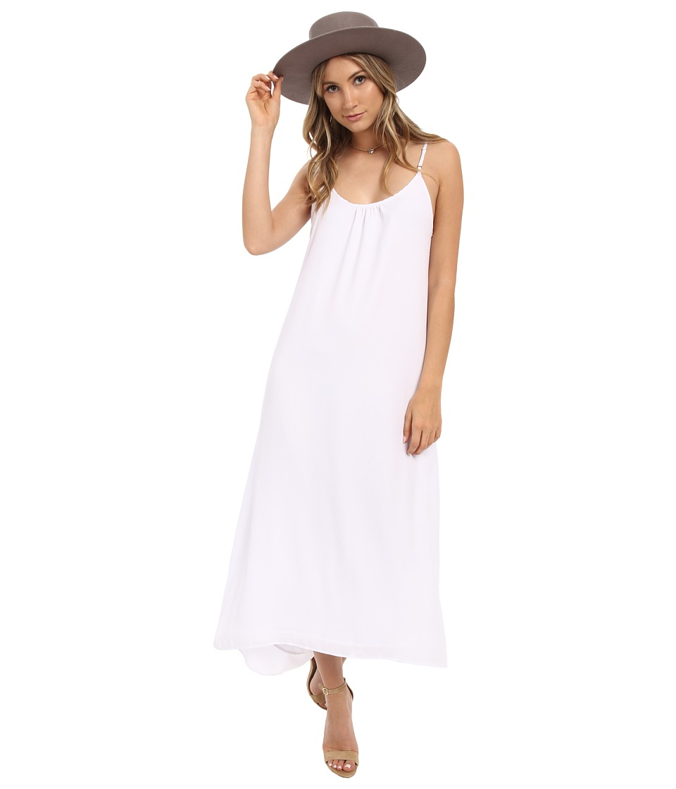 Show Me Your Mumu Turlington Maxi Dress White Crisp Womens Dress