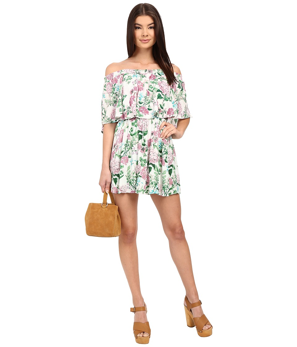 Show Me Your Mumu Casita Mini Dress Poppies/Cream Cloud Womens Dress