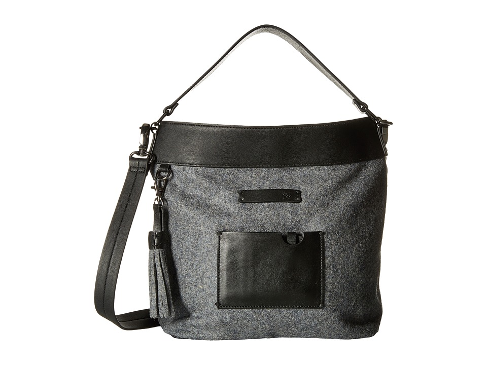 Sherpani - Boheme (Slate) Cross Body Handbags