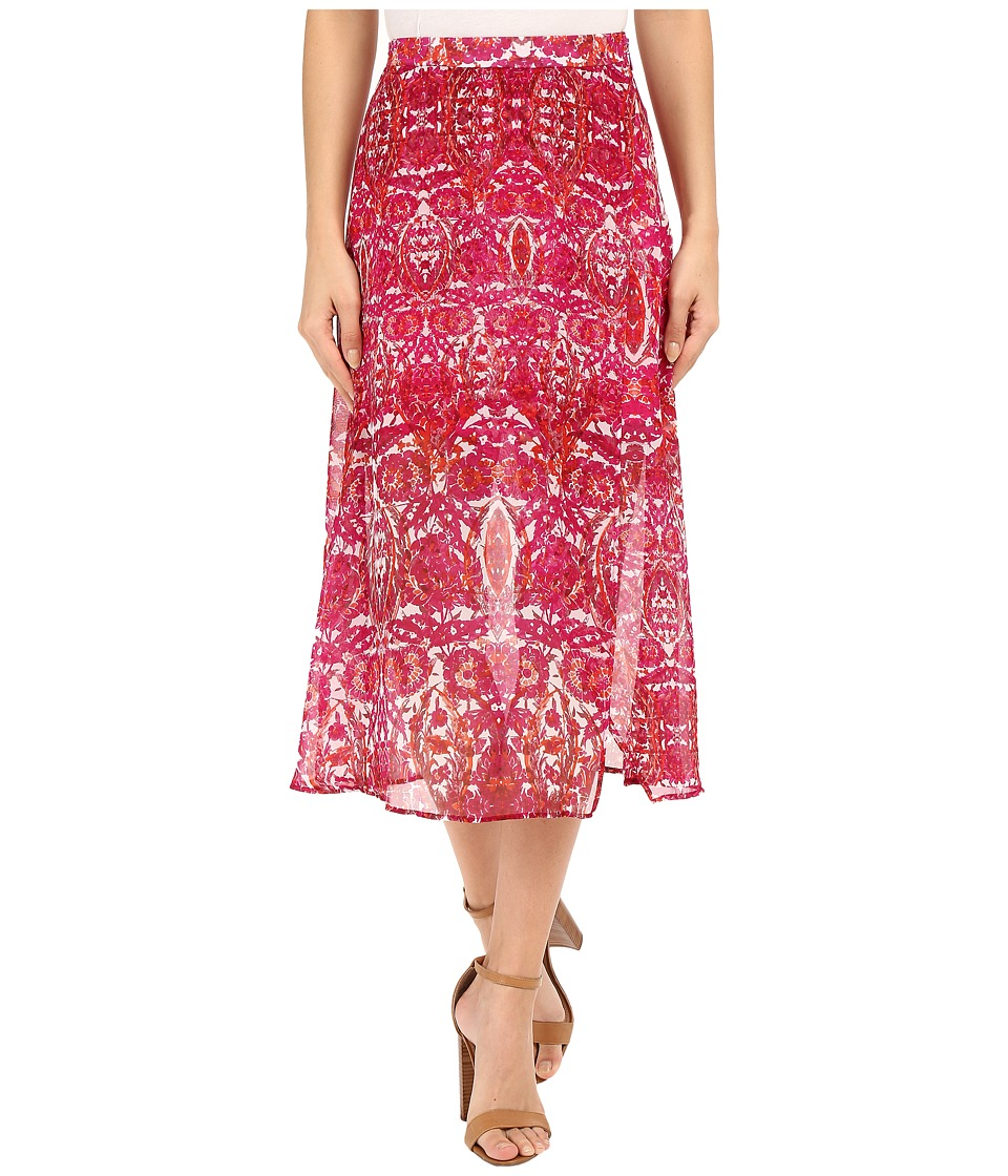 Show Me Your Mumu Flirt Skirt Pomegranate Punch Womens Skirt