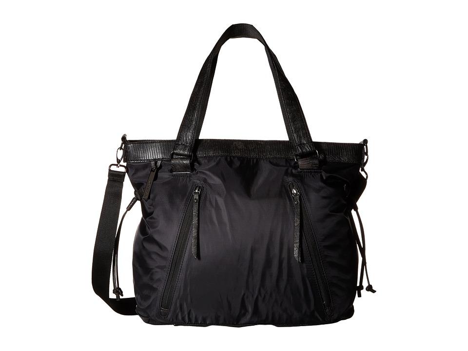 Sherpani - Pace (Black/Black Snake) Tote Handbags
