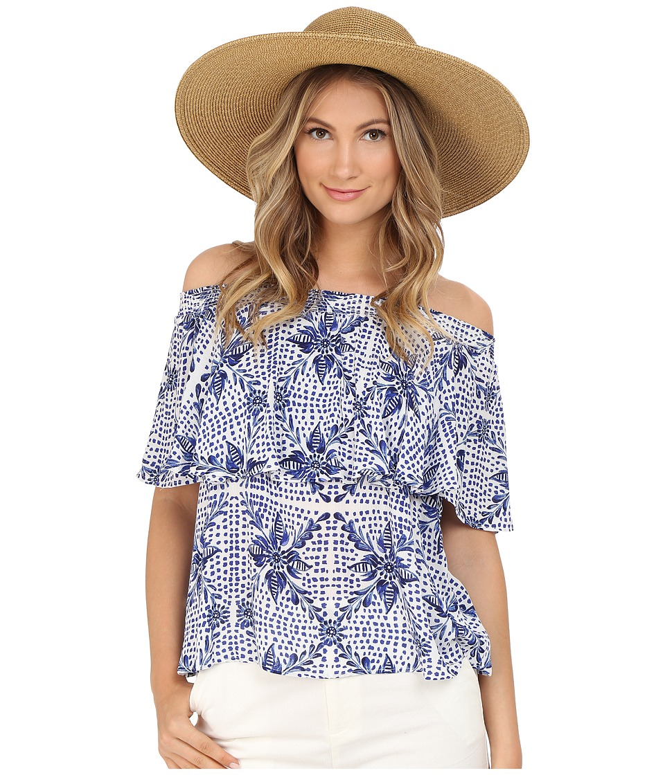 Show Me Your Mumu Bungalow Top Myko Niko Cloud Womens Blouse