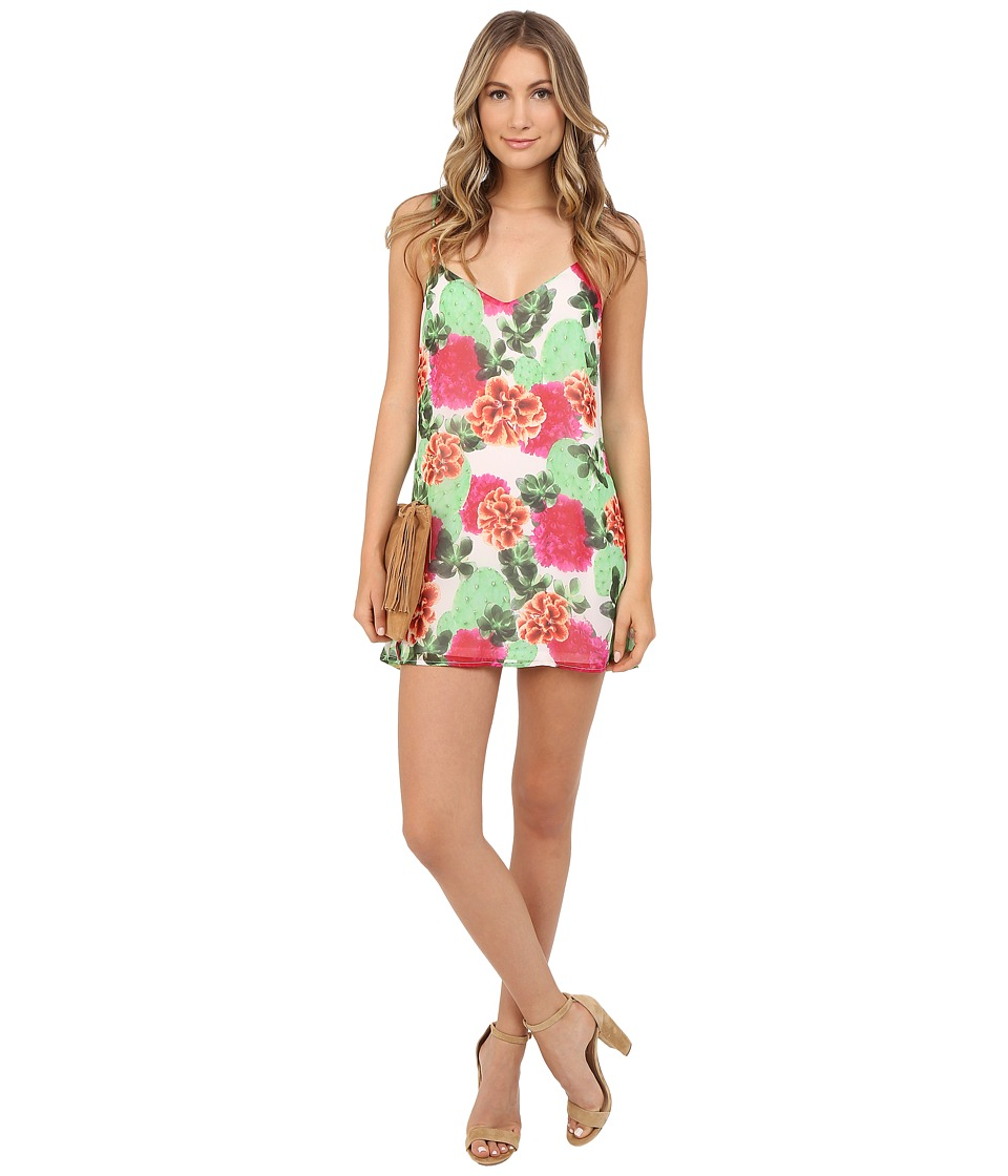 Show Me Your Mumu Crisscross Applesauce Cactus Bloom Womens Dress