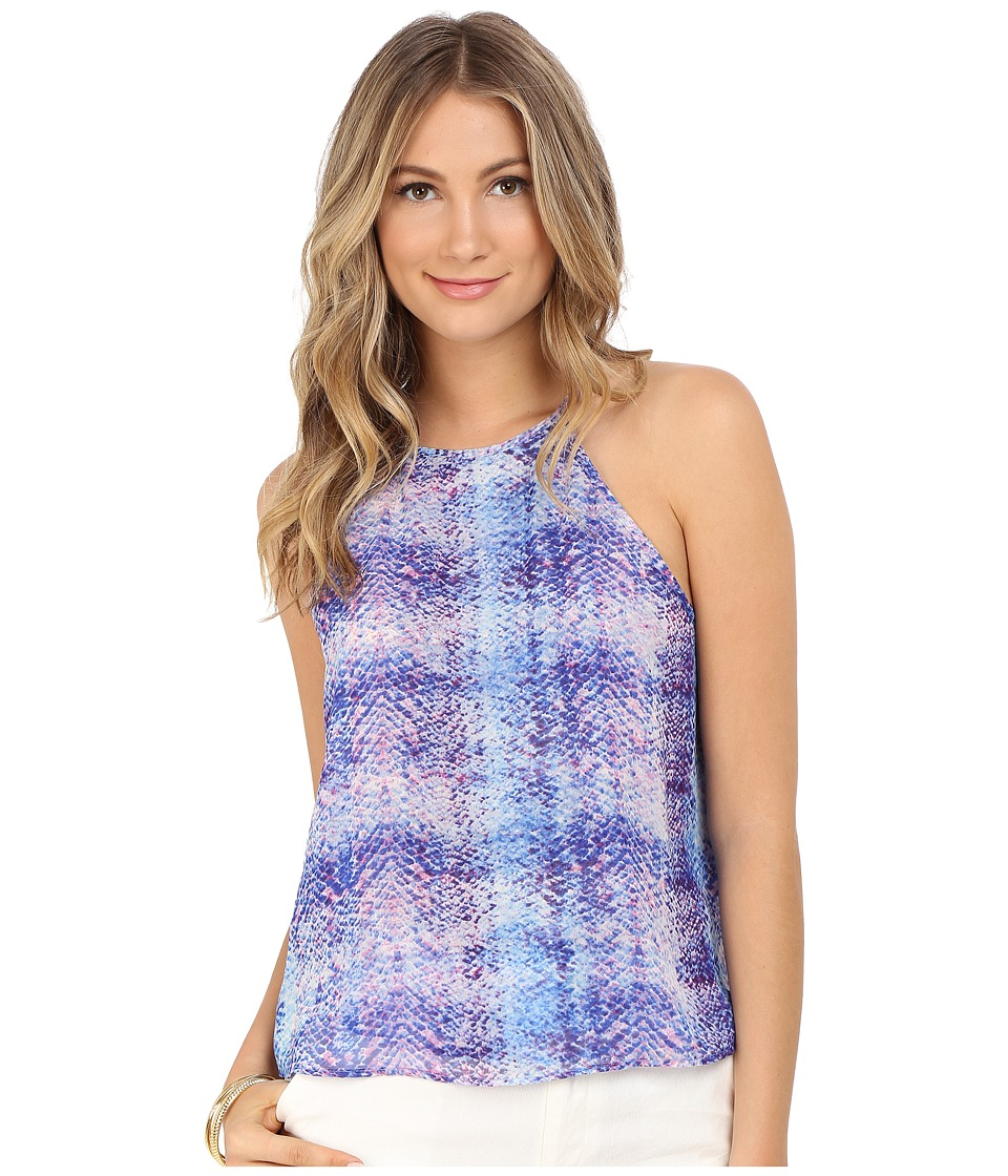 Show Me Your Mumu Selena Top Berry Skittle Snake Womens Clothing