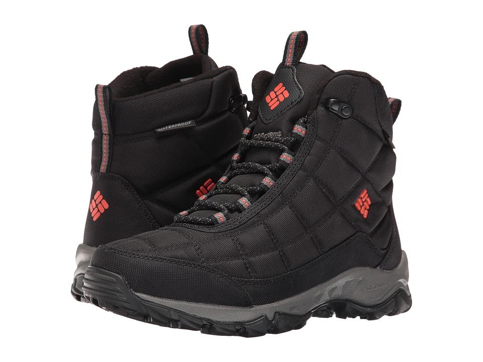 Columbia - Firecamp Boot (Black/Bonfire) Men