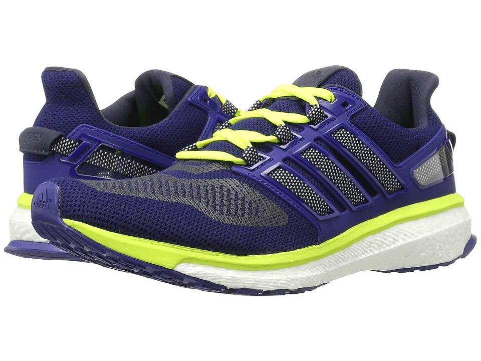 adidas Running Energy Boost 3 (Unity Ink/White/Solar Yellow) Men