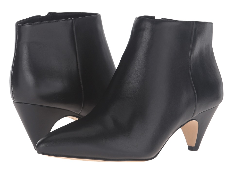 Sam Edelman - Lucy Ankle Boot (Black Modena Calf Leather) Women