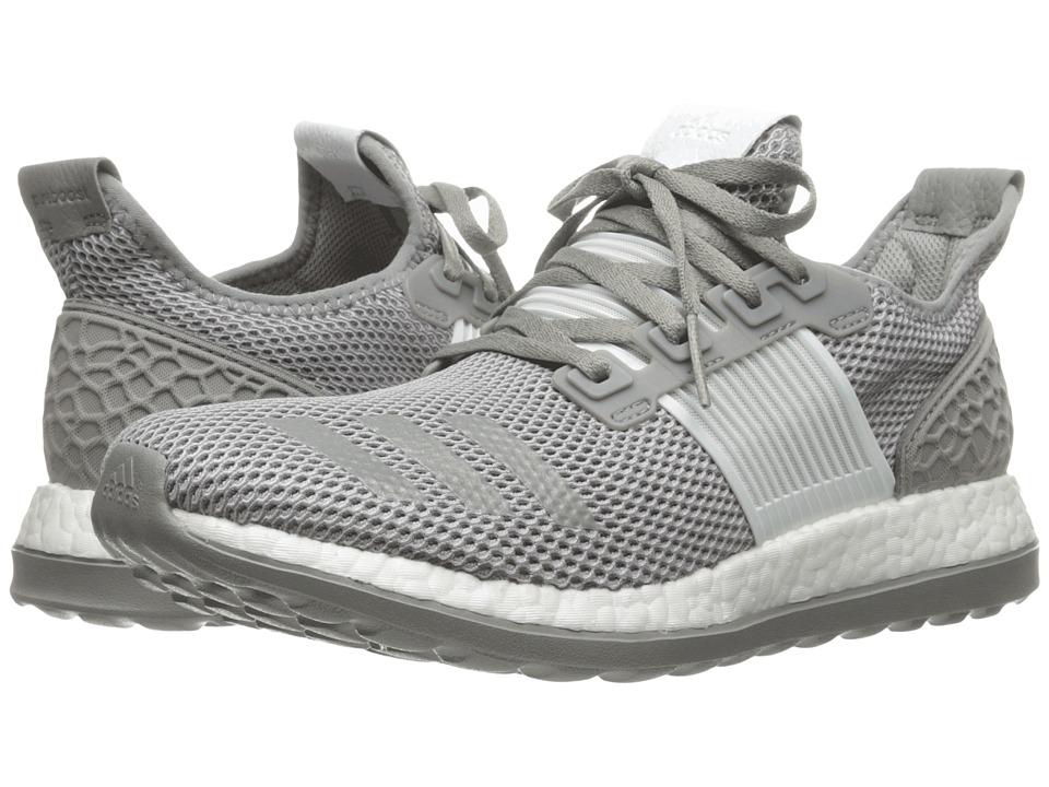 adidas Running - Pureboost ZG (Crystal White/Crystal White/CH Solid Grey) Men