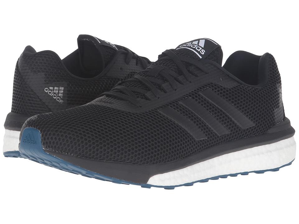 adidas Running - Vengeful (Black/Black/Solar Red) Men
