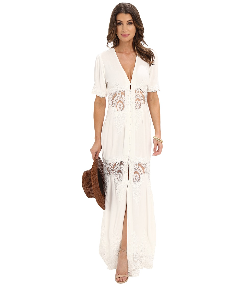 Stone Cold Fox Octavia Dress Ivory Womens Dress