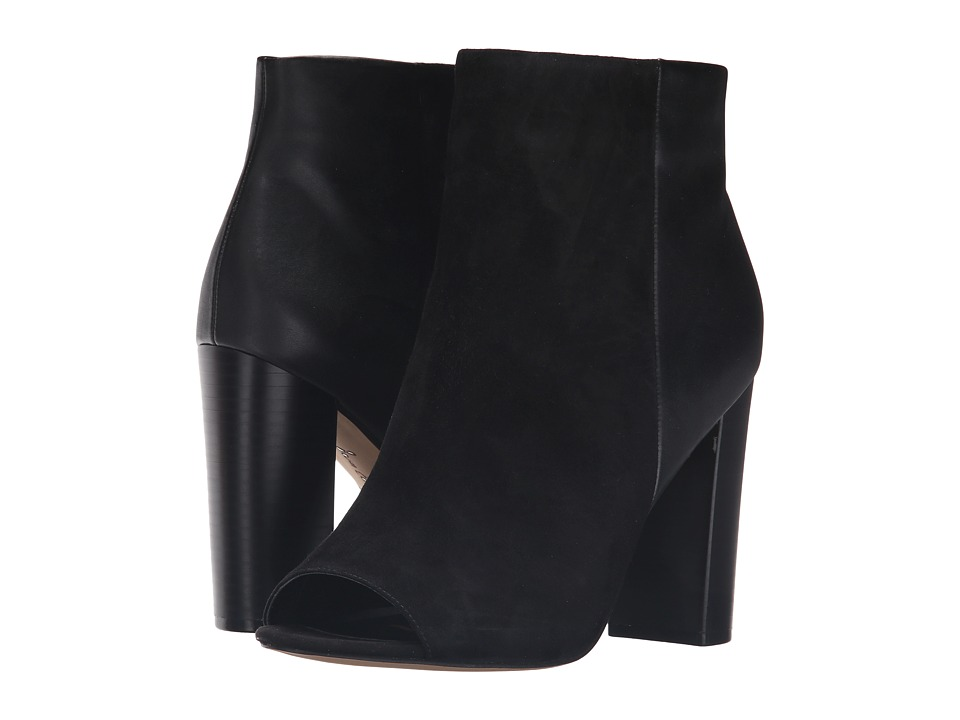 Sam Edelman - Yarin (Black Kid Suede Leather/Modena Calf Leather) Women