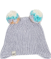 UGG Kids - Multicolor 2 Pom Knit Hat (Toddler/Little Kids)