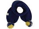 Knit Scarf w/ Multicolor Poms (Toddler/Little Kids)