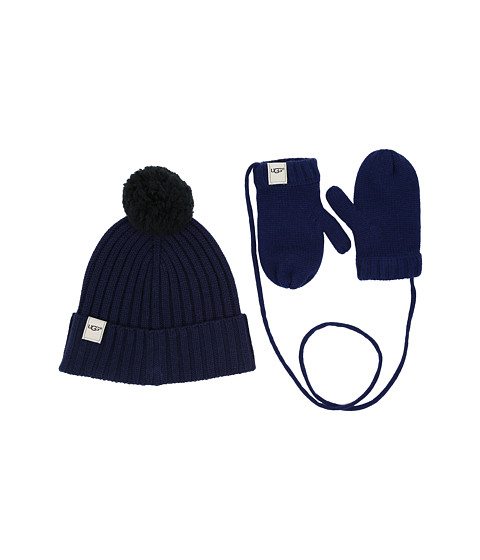 UGG Kids Hat and Mitten Boxed Set (Toddler/Little Kids)