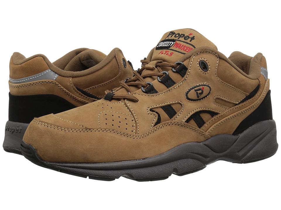Propet - Stability Walker Medicare/HCPCS Code = A5500 Diabetic Shoe (Chocolate/Brown Nubuck) Men