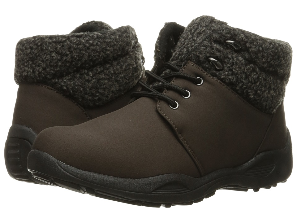Propet - Madison Ankle Lace (Espresso) Women's Cold Weather Boots