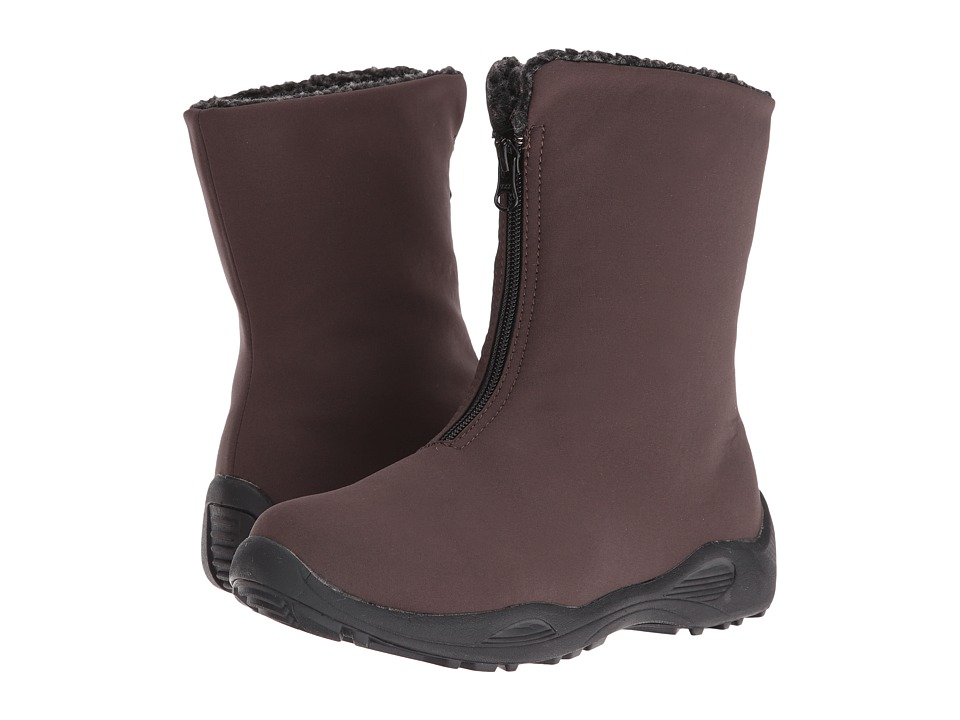 Propet Madison Mid Zip (Espresso) Women