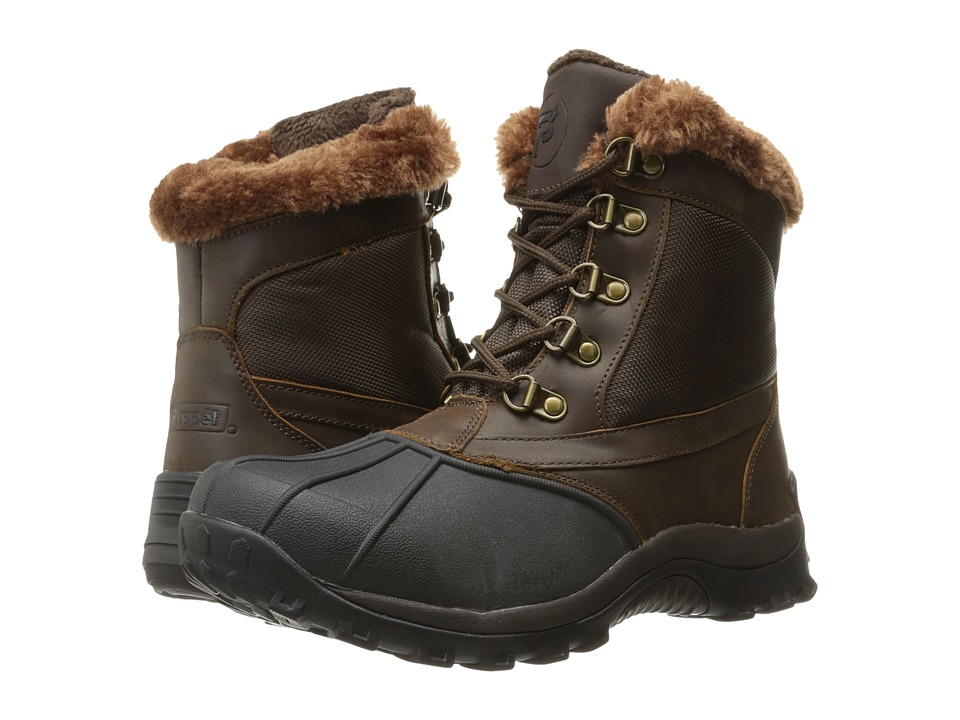 Propet Blizzard Mid Lace II (Brown/Nylon) Women