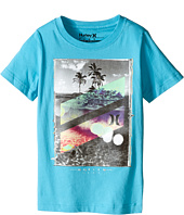 Hurley Kids - Skull Slash Short Sleeve Tee (Little Kids)