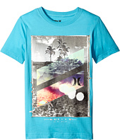 Hurley Kids - Skull Slash Short Sleeve Tee (Big Kids)