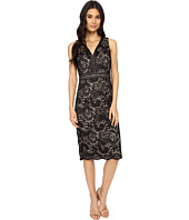 Maggy London - Spanish Scroll Lace Sheath Dress