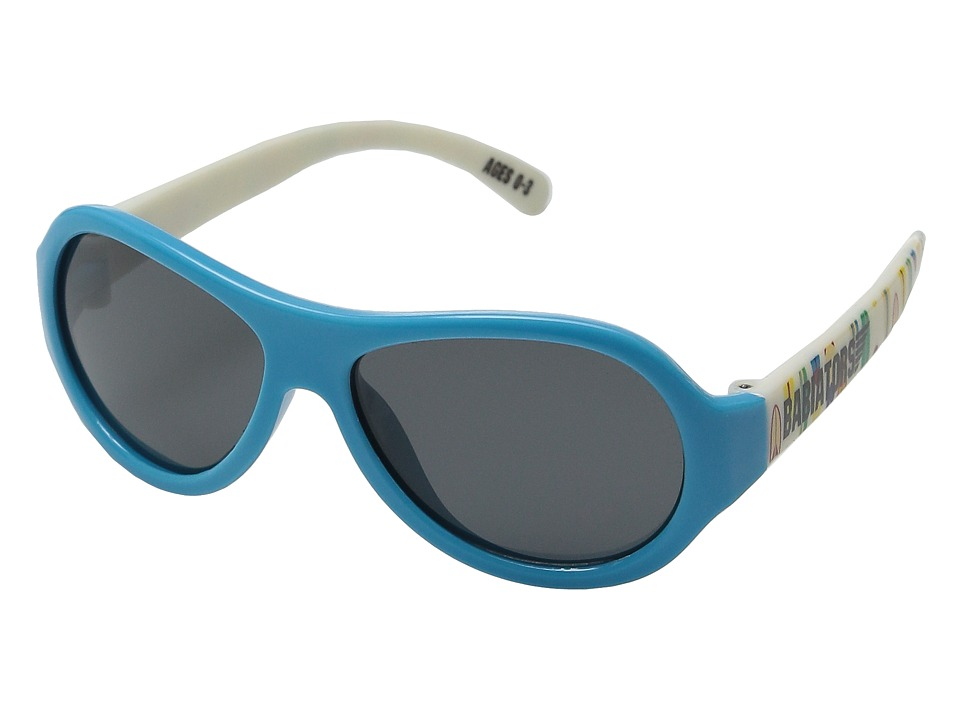 Babiators - Polarized Surfs Up Junior Sunglasses (0-3 Years) (Blue) Polarized Sport Sunglasses