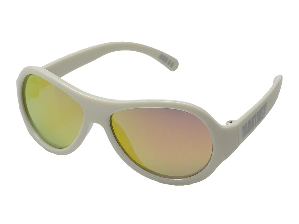 Babiators - Polarized Wicked Junior Sunglasses (0-3 Years) (White) Polarized Sport Sunglasses