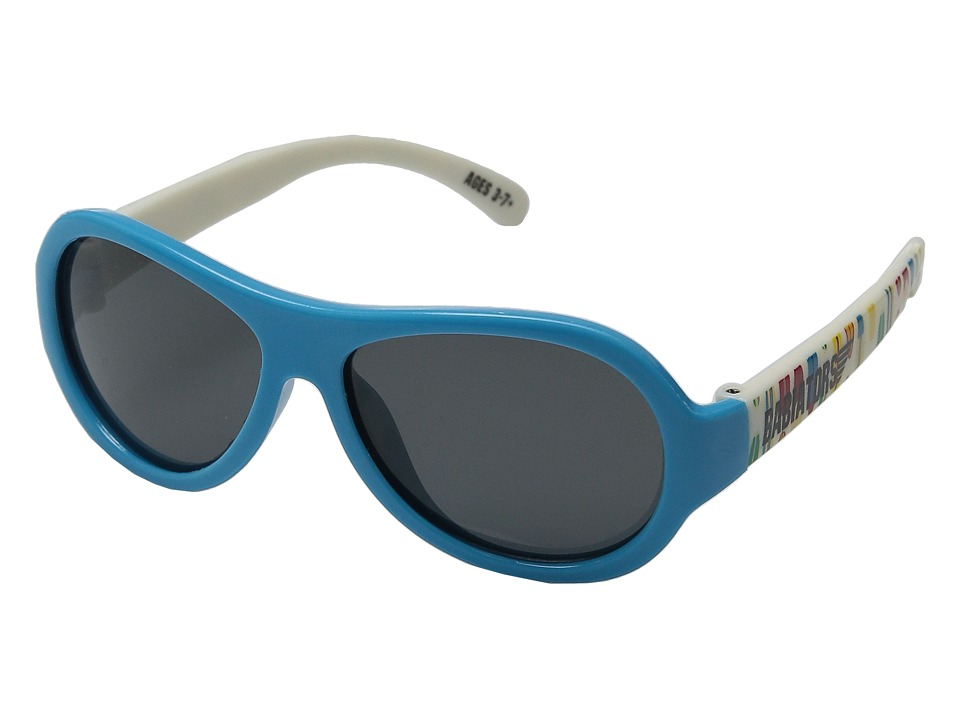 Babiators Polarized Surfs Up Classic Sunglasses 3 7 Years Blue Polarized Sport Sunglasses