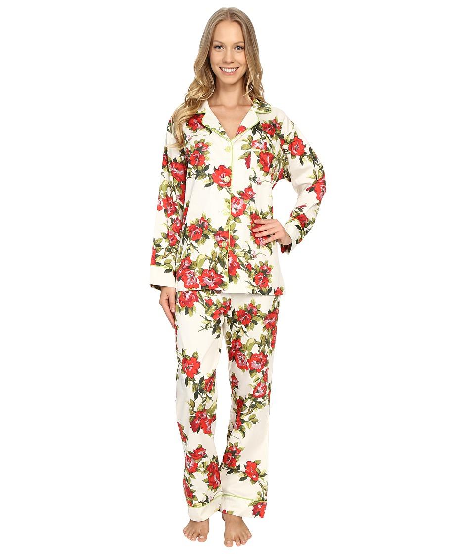 BedHead Classic Pajamas Voile Coral Hibiscus Womens Pajama Sets